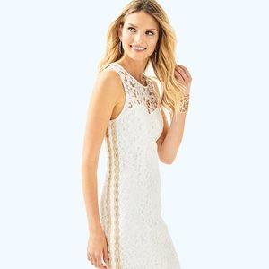 NWT Lilly Pulitzer Mila Shift Dress Resort White